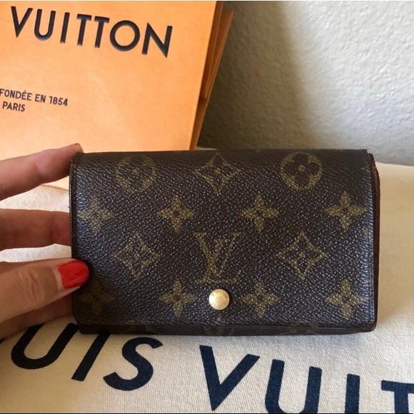 Louis Vuitton Handbags - Louis Vuitton Porte Monnae Monogram Wallet Vintage